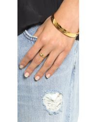 Jacquie Aiche | Metallic Center Stone Ring - Gold Multi | Lyst
