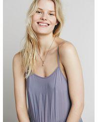 Free People - Blue Intimately Womens Easy Breezy Crochet Slip - Lyst