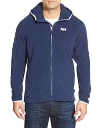 Helly Hansen | Blue 'daybreaker' Fleece Zip Hoodie for Men | Lyst