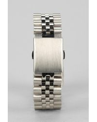 Urban Outfitters | Metallic Mister Dual Tone Bracelet for Men | Lyst
