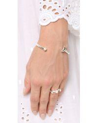 Pamela Love | Metallic Moon Cuff Bracelet | Lyst