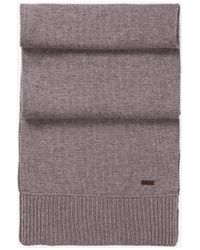 BOSS Orange - Gray Scarf 'katapon' In New Wool for Men - Lyst