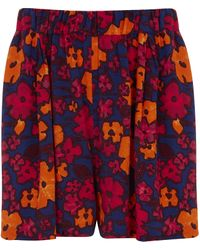 Finery London - Red Foxlow Shorts - Lyst