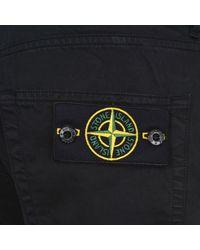 Stone Island - Black Regular Fit Jeans for Men - Lyst