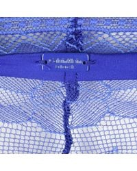 Calvin Klein - Purple Lace Bikini Pants - Lyst