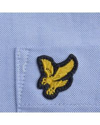 Lyle & Scott - Blue And Scott Oxford Shirt for Men - Lyst