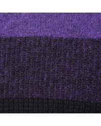 BOSS Orange - Purple Ilke Two Tone Jumper - Lyst