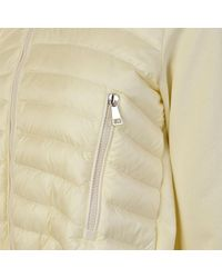Moncler - White Maglia Padded Jacket - Lyst