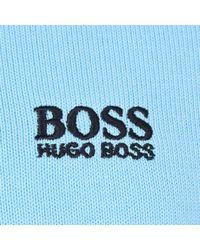 BOSS Athleisure - Blue Rime Crew Knit Jumper for Men - Lyst