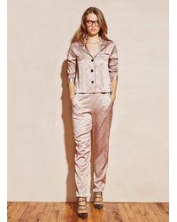 Fleur du Mal - Multicolor Long Sleeve Pajama Top - Lyst