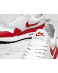Nike | White Air Max 1 Royal Se for Men | Lyst