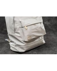 Mi-Pac - Gray Tumbled Backpack Light Grey for Men - Lyst