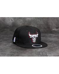 KTZ - 9fifty Nba Team Gitd Basic Chicago Bulls Snapback Black for Men - Lyst