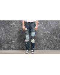 Footshop Blue Publish Snyder Woven Denim Jeans Indigo for men