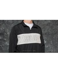 Huf - Stadium Half Zip Track Jacket Black for Men - Lyst