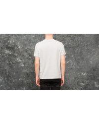 Champion Gray Crewneck T-shirt Light Oxford Grey for men