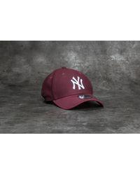 e4b2b275b68 Lyst - KTZ 9forty Diamond Era Essential New York Yankees Cap Maroon ...