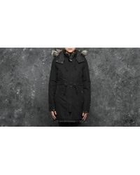 Footshop - The North Face W Zaneck Parka Tnf Black/ Vintage White - Lyst