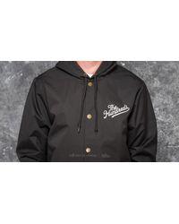 Footshop - The Hundreds Slant Tail Hooded Jacket Black for Men - Lyst