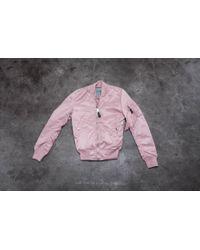 Footshop - Alpha Industries Ma-1 Vf Lw Wmn Silver Pink - Lyst