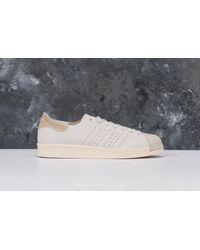 Adidas Originals Adidas Superstar 80s Decon Ftw White/ Ftw White/ Brown for men
