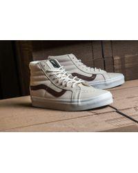 Vans - Multicolor Sk8-hi Reissue (leather) Blanc De Blanc/ Potting Soil for Men - Lyst