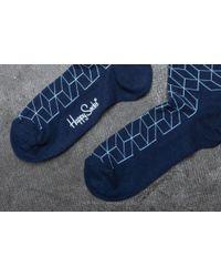 Happy Socks - Blue Opt01-6001 for Men - Lyst