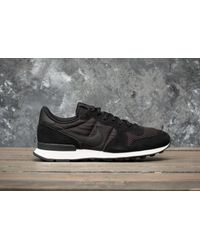 Nike - Internationalist Se Black/ Black-sail for Men - Lyst