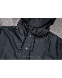 Footshop - Rains Long Jacket Black for Men - Lyst