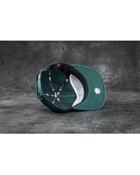 KTZ | 9fifty Chain Stitch Oakland Athletics Cap Dark Green for Men | Lyst