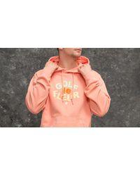 Converse Multicolor Golf Le Fleur Essentials Pullover Hoodie Peach Pearl for men