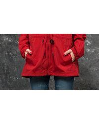 Reebok Red Reebok Crinke Woven Windbreaker Jacket Rich Magma