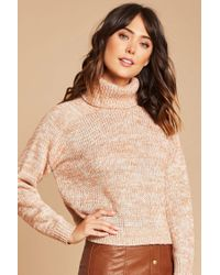 Forever 21 - Multicolor Contemporary Turtleneck Sweater - Lyst