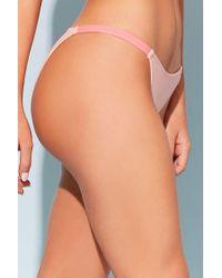 Forever 21 - Pink Stretch-knit Bikini Bottoms - Lyst