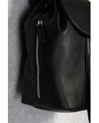Forever 21 | Black Chain Detail Backpack | Lyst