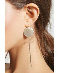 Forever 21 - Metallic Drop Match-stick Earrings - Lyst