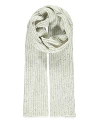 Forever 21 | Gray Marled Knit Ribbed Scarf | Lyst