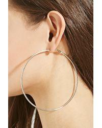 Forever 21 - Metallic Classic Hoop Earring Set - Lyst