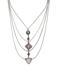 Forever 21 | Metallic Draped Statement Necklace | Lyst