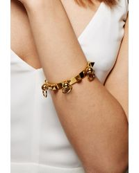 Forever 21 - Metallic Amber Sceats Triple Ring Bangle - Lyst