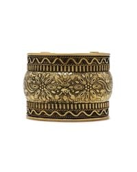Forever 21 | Metallic Etched Floral Cuff | Lyst