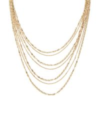Forever 21 | Metallic Mixed Chain Layered Necklace | Lyst