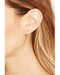 Forever 21 | Metallic Rhinestone Earring Set | Lyst