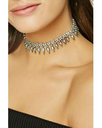 Forever 21 | Metallic Etched Ornate Choker | Lyst