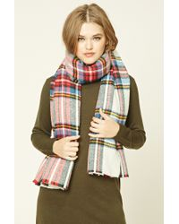 Forever 21 | Multicolor Plaid Flannel Scarf | Lyst