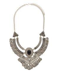 Forever 21 - Metallic Republique Francaise Necklace - Lyst