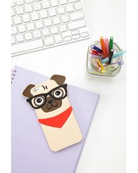 Forever 21 | Red Pug Phone Case For Iphone 6/6s | Lyst