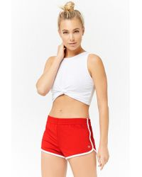 Forever 21 - Red Active Dolphin Shorts - Lyst