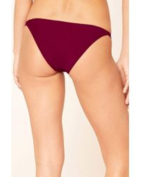 Forever 21 - Multicolor Low-rise Cheeky Bikini Bottoms - Lyst