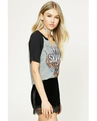 Forever 21 Multicolor Lynyrd Skynyrd Graphic Tour Tee